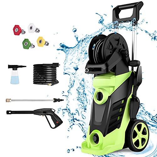 Homdox 3490PSI Electric Pressure Washer,2.6GPM Electric Power Washer...