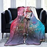 H-Arley Q-uinn Funny Blankets and Throws, Super Soft Thermal Indoor Outdoor Blanket, Microfiber Camping Throw Blankets for Living Room Bedroom Office Travel, 60 x 50 Inch -2