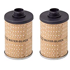 Auto & Truck Maintenance For GOLDENROD See-Through bowl fuel tank filter Water-Block models 496 and 496-3/4 only 17 micron filtration Water-Block filter removes water from gasoline and diesel fuel Water-absorbing polymers trap water, restricting fuel...