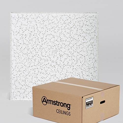 Armstrong Ceiling Tiles; 2x2 Ceiling Tiles - Acoustic Ceilings for Suspended Ceiling Grid; Drop Ceiling Tiles Direct from the Manufacturer; CORTEGA Item 704  16 pc White Tegular