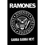 Empire 260871 Ramones Logo, Musik Poster ca. 91,5 x 61 cm