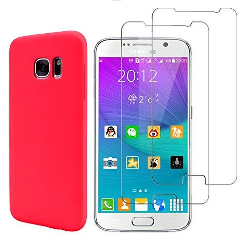 E-Mandala Samsung Galaxy S7 Panzerglas Hülle Schutzfolie Displayschutzfolie Glas Folie Glasfolie...