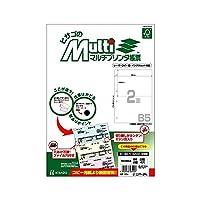 (まとめ買い) ヒサゴ FSC認証 マルチプリンタ帳票 B5 白紙 2面 4穴 100枚入 FSC2053 【×3】