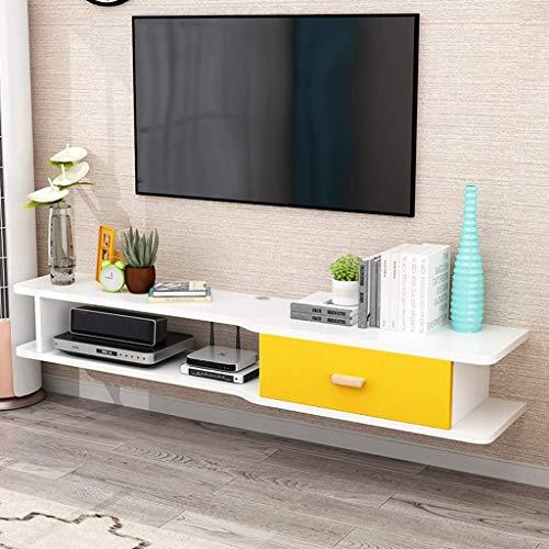 Consola Multimedia Para Montaje En Pared Estante Flotante Para Soporte De TV, Para Xbox One / PS4 / Caja De Cable/Reproductores De DVD/Consola De Juegos