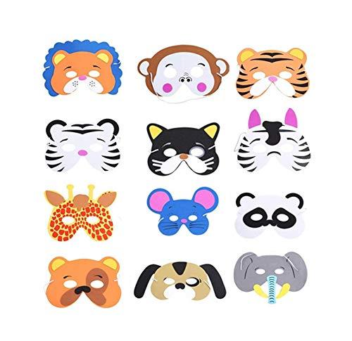 Máscaras Niños Animales Marca Yongbest