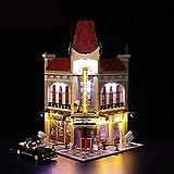 UUK Kit de iluminación LED para (Creator Expert Palace Cinema) Modelo de Bloques de construcción, Juego de Luces Compatible con Lego 10232 para niños, Instrucciones en inglés (no Incluye el Modelo)