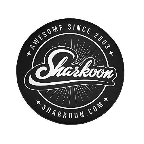 Sharkoon Floor Mat, Bodenschutzmatte für Gaming Stühle, Rund