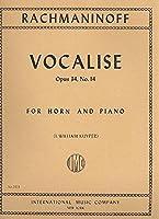 ラフマニノフ: ヴォカリーズ Op.34/14/インターナショナル・ミュージック社/ホルンとピアノ