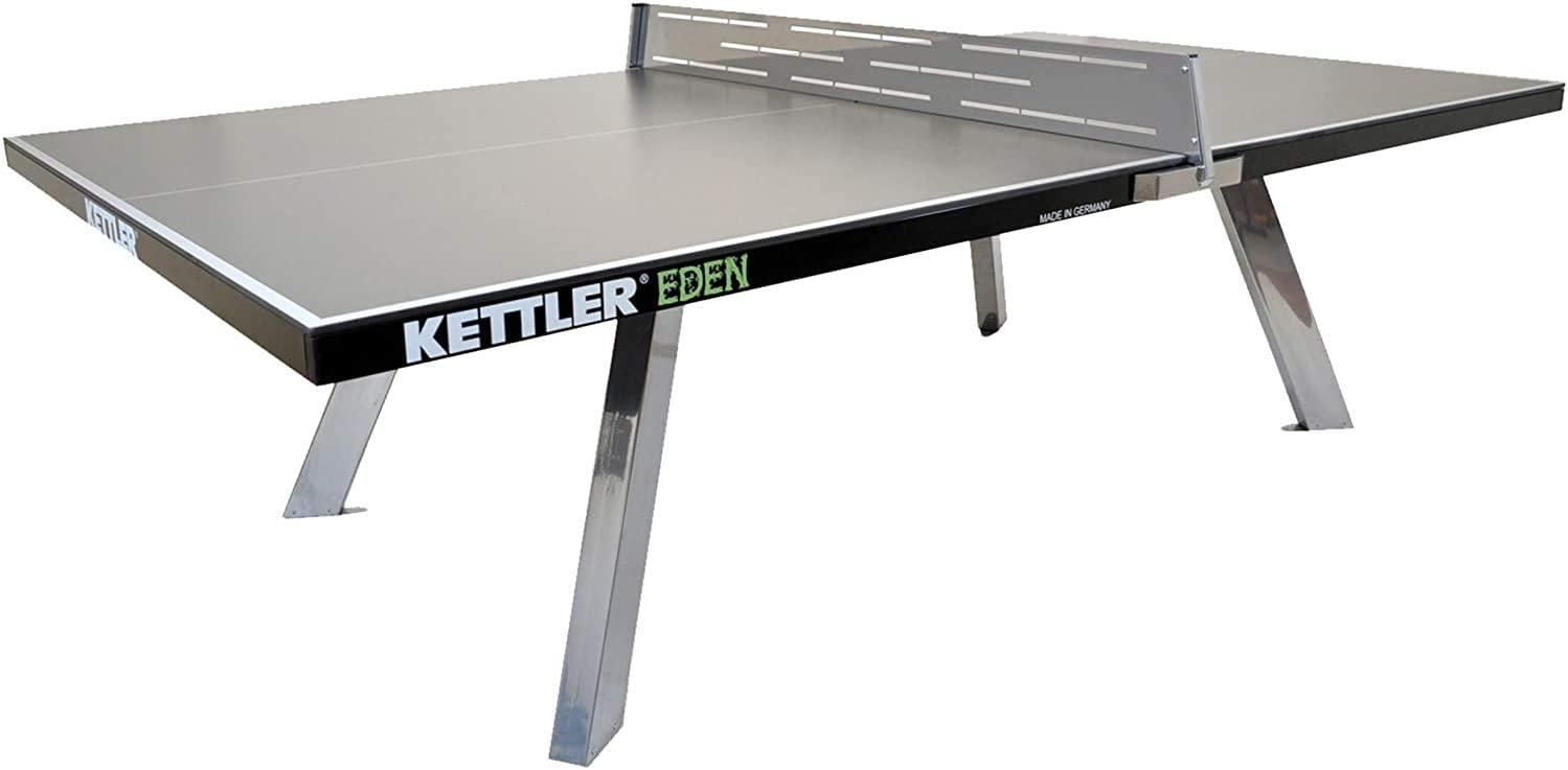 Kettler Eden Weatherproof Stationary Max 60% OFF Direct store Tennis Outdoor Table