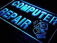 ADVPRO i081-b OPEN Computer Repair Display Shop NEW Light Sign