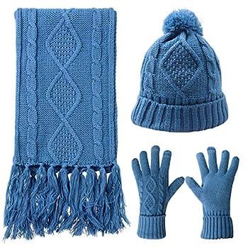 Best scarf hat gloves set Reviews