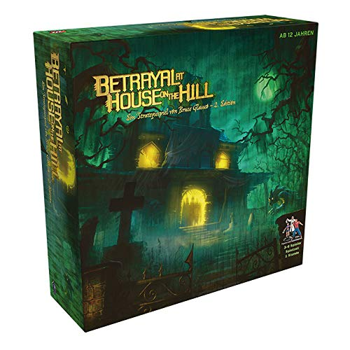Wizards Of The Coast WOCD0001 Cthulhu Betrayal at House on The Hill, Mehrfarbig, Bunt