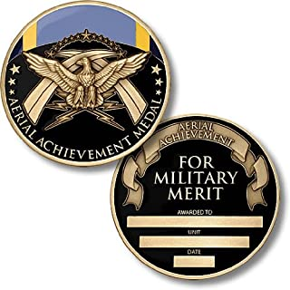 Air Force Aerial Achievement Medal Coin - Engravable Challenge Coin