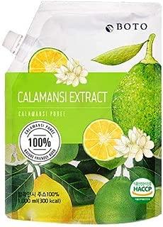 Boto Superfood Calamansi Extract Juice - 100% calamansi, easy pouch 33.8 fl Oz
