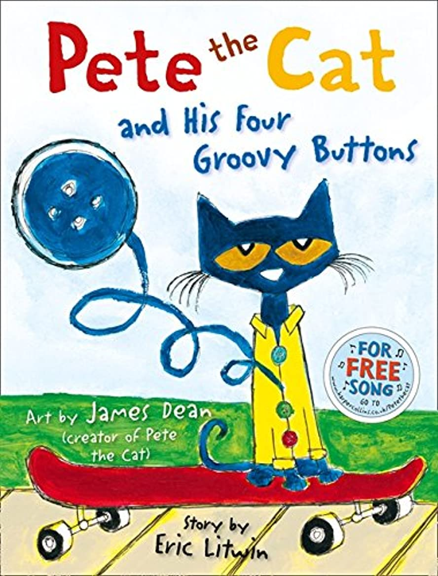 階聴覚障害者禁じるPete the Cat and his Four Groovy Buttons