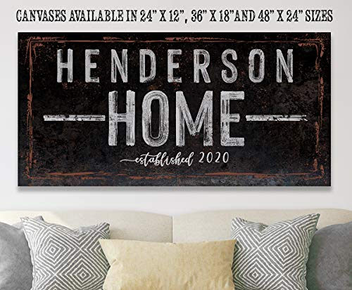 - Stretched on a Heavy Wood Frame Housewarming Every Year I Fall For Bedroom Cabin Fall Decor and Wedding Gift Under $50 Ready to Hang Anniversary Not Printed on Wood Large Canvas Wall Art