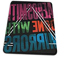 マウスパッド Mouse Pad with Non-Slip Edge Aerosmith Mouse Pad for Work, Games, Office and Home 10 X 12 Inch
