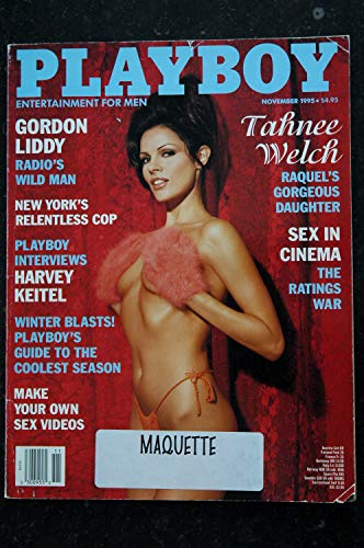 PLAYBOY US 1995 11 NEW YORK'S RELENTLESS COP TAAHNEE WELCH Holly Witt Harvey Keitel