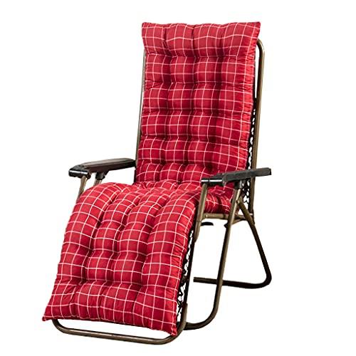 ShiftX4 Terraza tumbona reclinable, rejilla de repuesto de cojín, tumbona, jardín, antideslizante, para silla de ocio