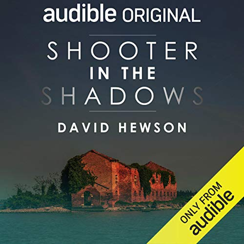 Shooter in the Shadows audiobook cover art