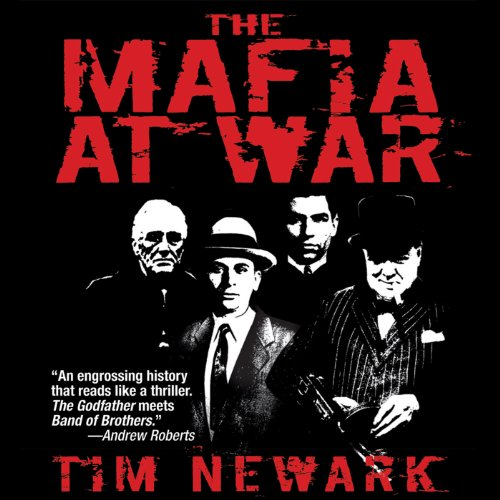 The Mafia at War audiobook cover art