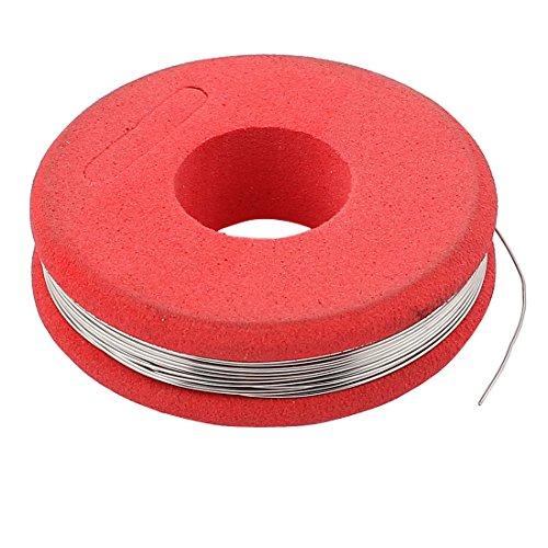 sourcingmap 7,5m 24,6ft Rot Konstantan 27 AWG 0,35mm 2.44ohm/m Heizdraht Widerstandsdraht DE de