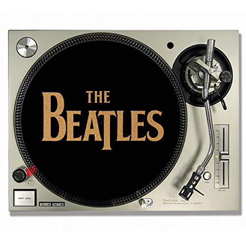 The Beatles DJ-Slipmats / Turntable Slipmats aus Kork, Vinyl