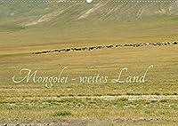Mongolei - weites Land (Wandkalender 2022 DIN A2 quer): Ein wunderschoenes, naturbelassenes Land - die Mongolei (Monatskalender, 14 Seiten )