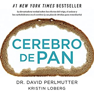 Cerebro de Pan [Grain Brain] audiobook cover art