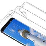TOCYORIC Protector de Pantalla para Samsung Galaxy S9 Plus HD Película de TPU [3 Piezas] [Alta Definición y Sensibilidad][Sin Burbujas] HD TPU Film Screen Protector para Samsung Galaxy S9 Plus