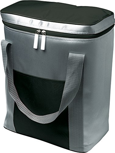 Kühltasche XXL Isoliertasche für mehrere Literflaschen Volumen 16,92 L Thermotasche schwarz