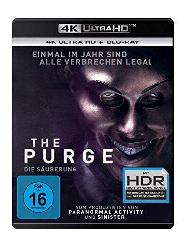 The Purge 1 - Die Säuberung (4K Ultra HD) (+ Blu-ray 2D)