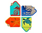 Papyrus Blank Cards with Envelopes, Sea Life (20-Count)