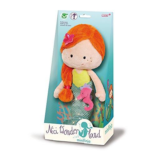 Nici 40004 Wonderland Badepuppe Meerjungfrau