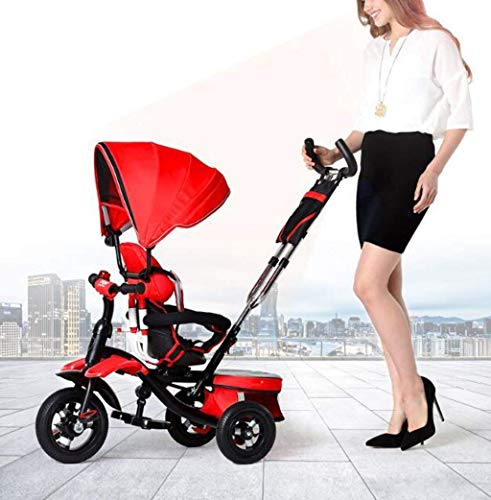 Buy Comfortable Prams TricycleBaby Trolley Baby Bicycle/seat Steering Tricycle Stroller Inflatable/1...