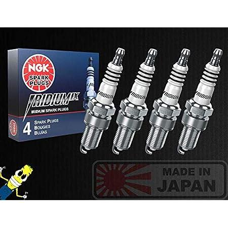 NGK Iridium IX Spark Plugs Screw Tip BPR5EIX 4 Stock #6597 Qty