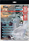 Amigo Spiel + Freizeit Ultra PRO 81359 - Raccoglitore per Carte da Collezione, 10 Fogli [I...