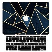 """Sepikey Newest Macbook pro 13 インチ ハードケース,衝撃吸収 保護カ 超薄型 耐久性 汚れに強い 衝撃吸収 保護カ 超薄型 耐久性 汚れに強い 保護ケース 専用 Macbook Pro 13"""" A1708/A1706/A1989 & キーボードカバー-TSL01"""