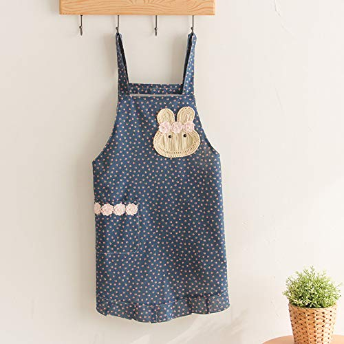 YXDZ Overalls Küchenschürze Modische Taille Haushalt Kochen Kochen Arbeitskleidung Lätzchen