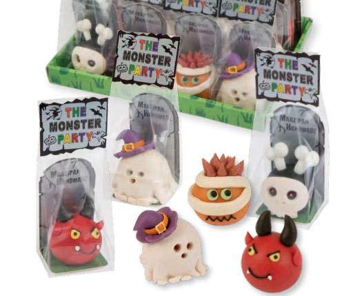 Günthart Marzipan Monster   Halloween   Marzipan Figur   Fasching   4x24g