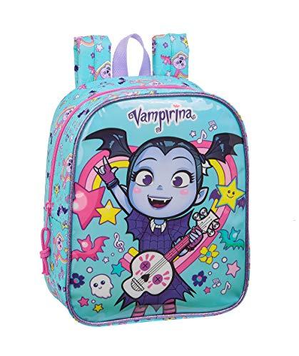 Safta 612039232 Mochila guardería niña Adaptable Carro Vampirina  Multicolor