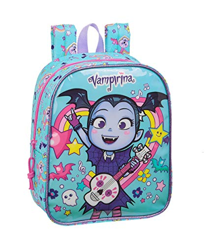 Safta 612039232 Mochila guardería niña Adaptable Carro Vampirina  Multicolor