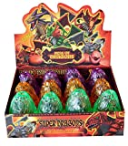 PowerTRC Dragon Dinosaurs Set   12 Eggs Kit   Take Apart Toys   Cute Dinosaurs Toys   Kids Figurines   Action Toys   Boys and Girls
