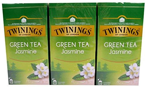 Twinings of London Jasmine Green Tea 3 x 25 Teebeutel