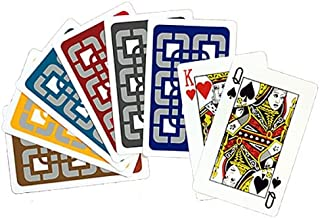 Baron All-Plastic Bridge Sized Playing Cards (12 Decks-cellophane Wrapped) #8685
