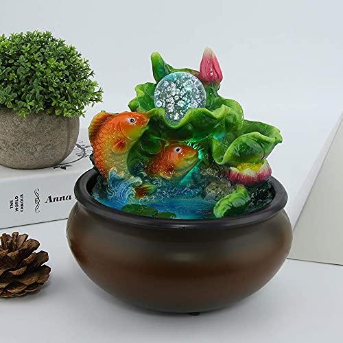 wosume Innenwasserbrunnen, schöne Atmosphäre Einzigartiger Designstil Feng Shui-Brunnen, Büro für Zuhause