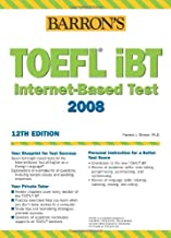 TOEFl IBT Internet Based Test 2006-2007: Book by Pamela J Sharpe (1-May-2006) Paperback