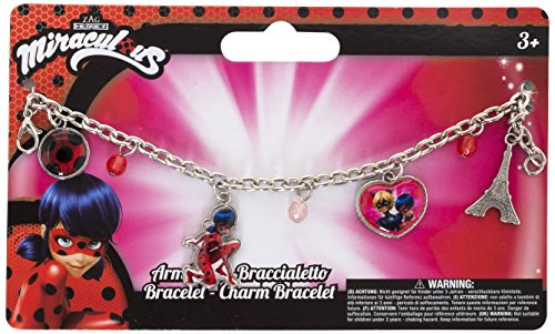 Joy Toy 65982 Figuren & Charactere Miraculous Armband mit Anhänger auf backercard 15x1x9 cm, girls