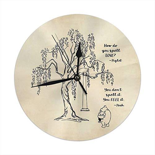 gardenia store Winnie Puuh - Reloj de Pared (9,84')