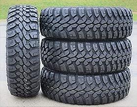 Set of 4 (FOUR) Forceum M/T 08 Plus Mud Radial Tires-LT265/75R16 123/120Q LRE 10-Ply